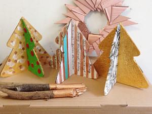 KreARTON_karton_cardboard_karácsonyfa
