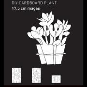 KreARTON_karton_virág_dekoráció_cardboard_plant_decoration0002