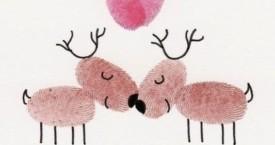 Karácsonyi képeslapok nagyszülőknek – csináld magad